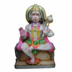 Marble Hanuman Statues, Size/Dimension: 1 Feet