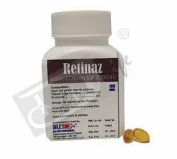 RETINAZ - Vitamin A Capsules USP 200000 IU