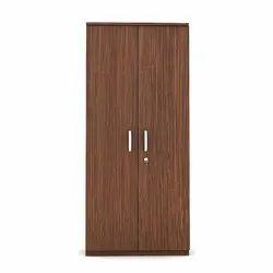 Brown Double Door Wardrobe, For Home