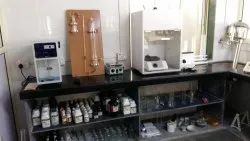 Mineral water plant laboratory setup