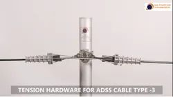 MMPT Aluminium Alloy Tension Assembly / Set For ADSS Cable Type 3, For Industrial, Cable Size: 14MM