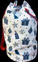 Christmas Canvas Duffle Bag