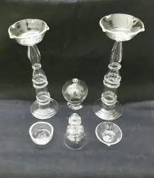 Decorative Glass Oil Diyas