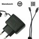 Mobitek Black 2 In 1 Charger N70 Mobile Charger