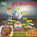 Almond Shell Cracking Machine plant