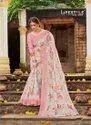 Lifestyle Ruhani Cotton Silk Printed With Jacquard Border Saree Catalog