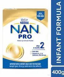Nestle Nan Pro Stage 2 Powder, 400GM, Packet