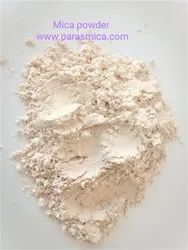 Off White Wet Ground Mica Powder, Size: -325 Mesh, Thickness: 99% Pass Through 325 Mesh