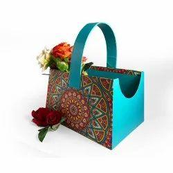 HARD RIGIT BOARD Fancy Gift Basket Mandala Art, Box Capacity: 1-5 Kg