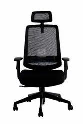 Wind HB Revolving Chair With Headrest