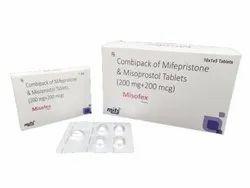 Mifepristone With Misoprostol Combipack