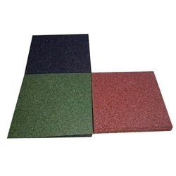 Gym Rubber Flooring Tile