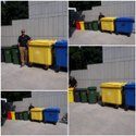 Nilkamal 240 Litre Wheel Waste Bin