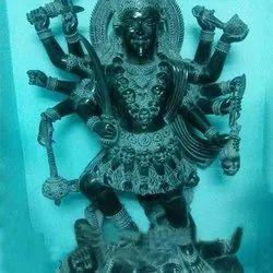 Lords Maa Kali Devi Black Marble Statue