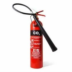 Carbon Steel Co2 Type Fire Extinguisher, Capacity: 5Kg