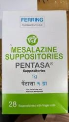 Pentasa 1GM Suppository ( Mesalazine Suppositories )