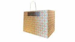 Printed Paper Gift Bags, Loop Styled, Capacity: 5 Kg