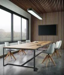 Amodini System Wooden Modular Office Conference Table, for Offices