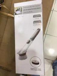 Medium White Working Cleaning Brush