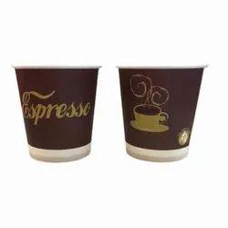 Printed Dispo Dawat Disposable Paper Cup, Capacity: 130 Ml Regular