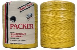 Packer Polypropylene Yellow PP Baler Twine