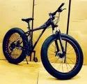 Audi Dolphin Black Fat Tyre Cycle
