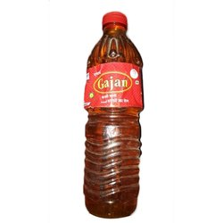 Gajan 1L Kachi Ghani Mustard Oil, Packaging Type: Plastic Bottle