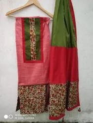 Chanderi Aari Work Suit