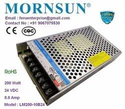 24VDC 8.8A Mornsun SMPS Power Supply