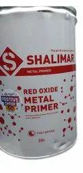 Liquid Shalimar Red Oxide Metal Primer, Roller, 20 L