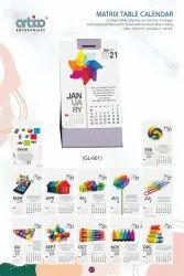 Matrix Table Calendar