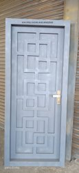 Powder Coated Modern Steel Door, For Office, Thickness: 4mm