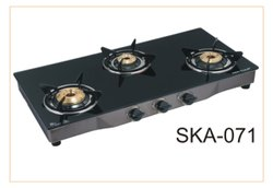 Instant THREE BURNER GAS STOVE, For Kitchen, Model Name/Number: TW3B