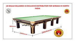 Wiraka Classic M1 Snooker Table (Wiraka Distributor In North India)