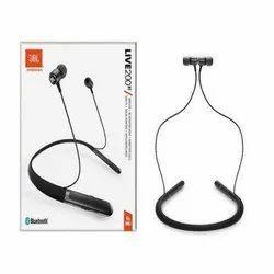 Black JBL LIVE200BT in-Ear Wireless Neckband Headphones