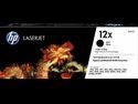 HP 12X High Yield Black Original LaserJet Toner Cartridge