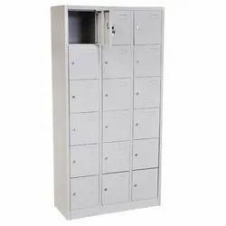 Modern Digital Lock MS Industrial Lockers, For Storage, No Of Lockers: 18