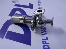 S.s. 316 L Sanitary Safety Valves, For Industrial