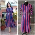Fancy Heavy Reyon Ladies Wear Kurti With Belt