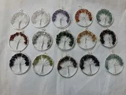 Multicolor Round Crystal Pendant