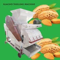 Row Almonds shelling Machine