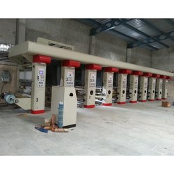 High Production Rotogravure Printing Machine