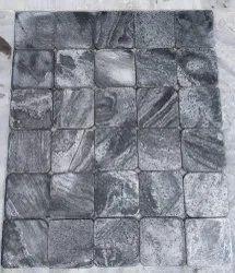 Silver Grey - Brushed   Tumbled Quartzite