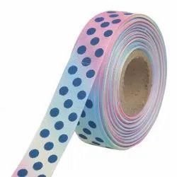 Gross Grain Ombre Polka Dot - Ribbons25mm/1''inch Gross Grain Ribbon 20mtr Length