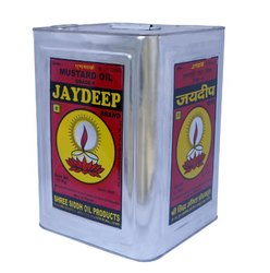 15 Kg Jaydeep Kachchi Ghani Cooking Mustard Oil