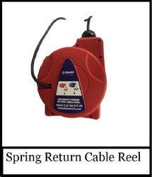 Spring Retractable Cable Reeling Drum 30 Meters
