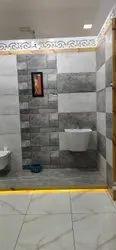 kajaria bathroom wall tiles grey colour