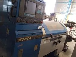 Used & Old -Make Ecoca Pc-3807 Cnc Lathe Machine