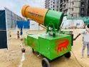 Mild Steel Anti Smog Gun For 60 Mtr Throw
