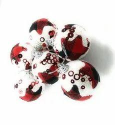Christmas Decoration Balls 6 Pcs